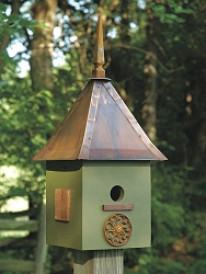 Songbird Suite Bird House Dark Olive