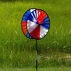 Patriotic Duo Wheel Spinner