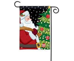 Santa Approved Garden Flag
