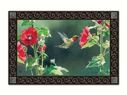 Hummingbird Delight MatMate Doormat