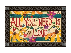 All You Need Is Love MatMate Doormat