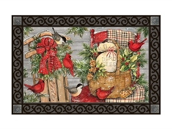 Front Porch Christmas MatMate Doormat