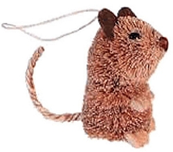 Brushkins Brown Mouse Ornament