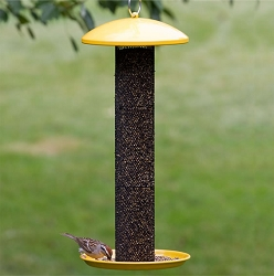 NO/NO Straight Sided Finch Tube Feeder