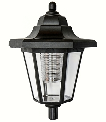 AdjustaPole Solar LED Lantern Top