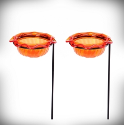 Oriole Single Cup Plant Stick Feeder Set of 2