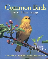 Common Birds and Their Songs Book & CD