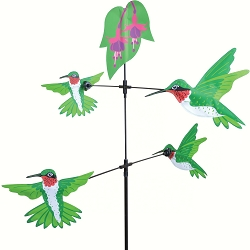 Carousel Spinner Hummingbirds