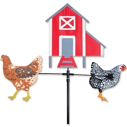 Carousel Spinner Single Chickens and Hen House
