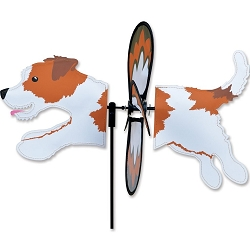 Petite Jack Russell Wind Spinner