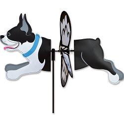 Petite Boston Terrier Wind Spinner