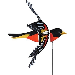 Flying Northern Oriole Wind Spinner Large
