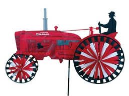 International Harvester Tractor Wind Spinner