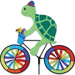 Turtle Bicycle Wind Spinner Large