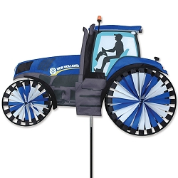 New Holland Farm Tractor Wind Spinner Large