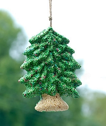 Merry Christmas Tree Edible Bird Feeder