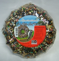Le Petit Mini Bird Seed Wreath 2/Pack