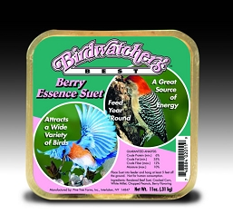 Birdwatcher's Best Berry Essence Suet Cake 11 oz 12/Pack