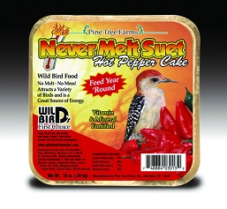 Never Melt Suet Hot Pepper Cake 13 oz 6/Pack