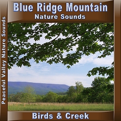 Blue Ridge Mountain Nature Sounds Birds & Creek CD