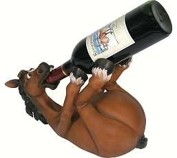 Horse Wine Bottle Holder