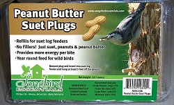 Songbird Suet Plugs Peanut Butter 12/Pack