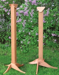 Songbird Cedar Bird Feeder Super Post Kit