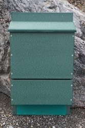 OBC Recycled Poly Triple Cell Bat House Green
