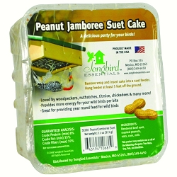 Peanut Jamboree Suet Cake 11 oz. Set of 6