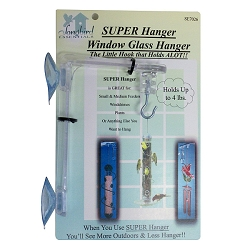 Window Glass Super Hanger Set of 3