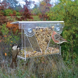 Clear View Hopper Window Bird Feeder