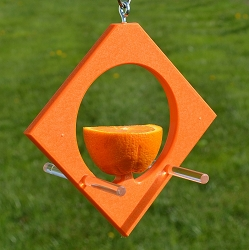 Rubicon Recycled Plastic Diamond Oriole Feeder 2-Pack