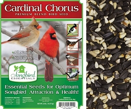 Songbird Essentials Cardinal Chorus Bird Seed 5#