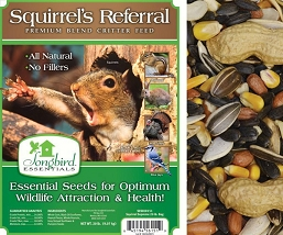 Songbird Essentials Squirrel's Referral Critter Food 20#