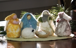 Wild Woolies Cozy Felt Nativity