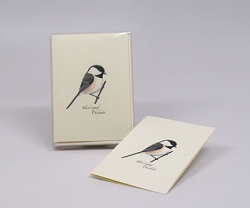 Black-capped Chickadee Boxed Notecard Assortment Set of 8