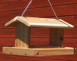 Select Cedar Standard Hanging Hopper Feeder