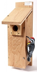 Select Cedar Woodpecker House