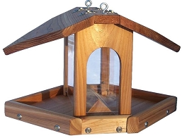 Select Cedar Hanging Multi-Seed Feeder