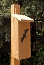 Select Cedar Triple Chamber Bat House