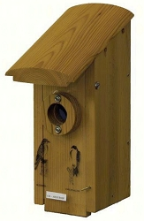 Select Cedar Country Squire Arch Roof Bird House