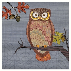 Awesome Owls Eco Magnet