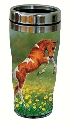 Dances with Daisies 16 oz. Travel Tumbler