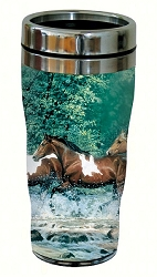 Spring Creek Run 16 oz. Travel Tumbler