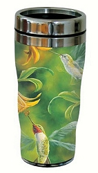 Ruby Wings 16 oz. Travel Tumbler