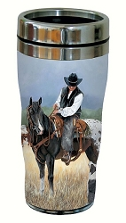 Staff Meeting 16 oz. Travel Tumbler