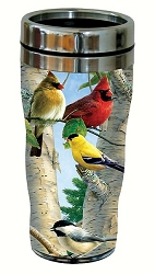 Favorite Songbirds 16 oz. Travel Tumbler