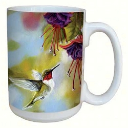 Ruby and Fuchsia 15 oz. Lovely Mug