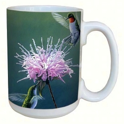 Hummingbird Treat 15 oz. Lovely Mug