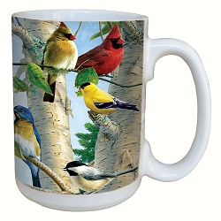 Favorite Songbirds 15 oz. Lovely Mug